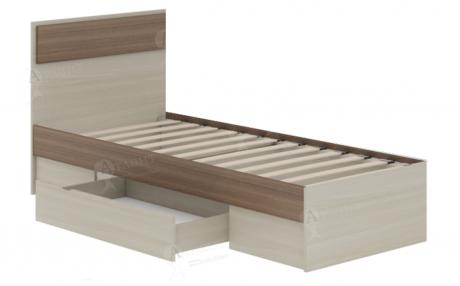 Кровать односпальная Next 71 с ящиком и ортопедическим основанием