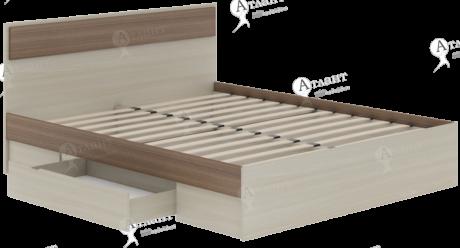 Кровать полутороспальная Next 72 с ящиком и ортопедическим основанием