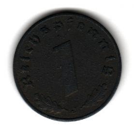 Германия 1 пфенниг 1942 J