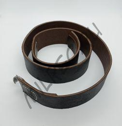 Ремень рядового состава Вермахт, СС, зацеп аллюминиевый, 115 см., реплика (уценка)