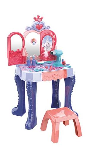 Детское трюмо туалетный столик сенсорный со стульчиком 661-132