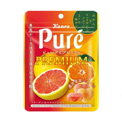Мармелад Kanro Pure со вкусом апельсина