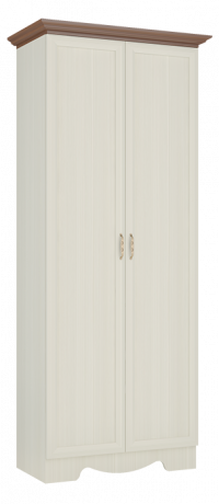 Шкаф двухдверный Латте 2