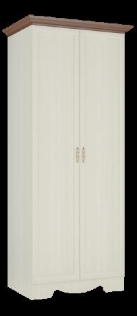 Шкаф двухдверный в прихожую Латте 22