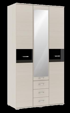 Шкаф 3х-дверный Сити 3 с зеркалом