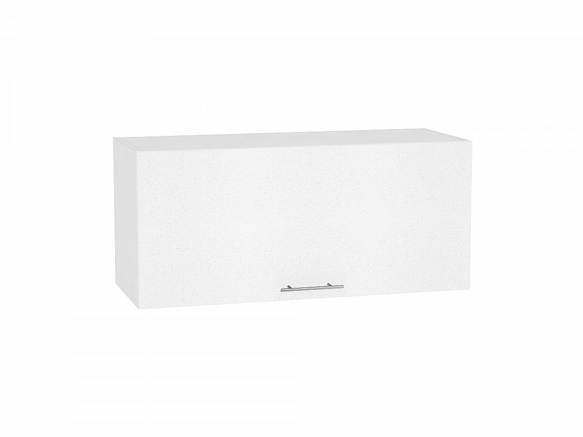 Шкаф верхний Валерия ВГ810 (белый металлик)