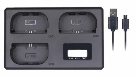 Тройное зарядное устройство TT-LPE6