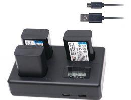 Тройное зарядное устройство TT-NPFW50