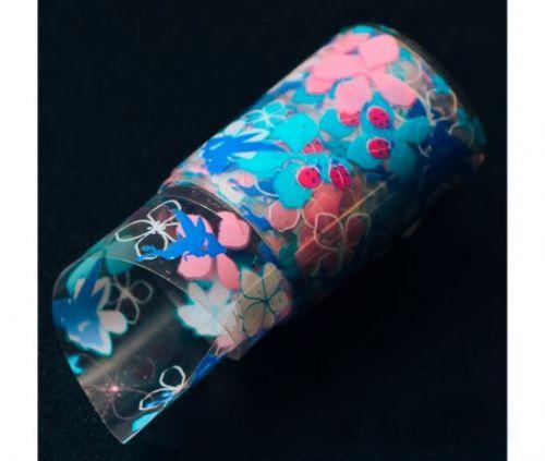 Фольга для литья Hanami Цветочные феи 1м.