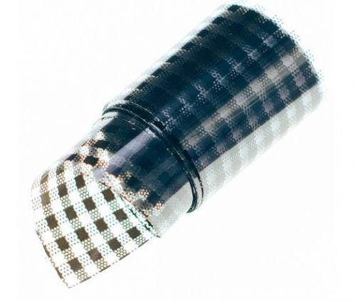 Фольга для литья Hanami Стёганое одеяло, чёрный 1м.