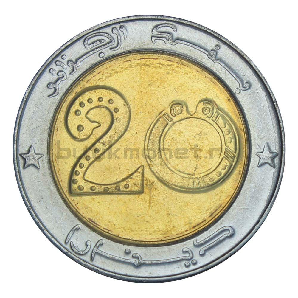 20 динаров 2018 Алжир