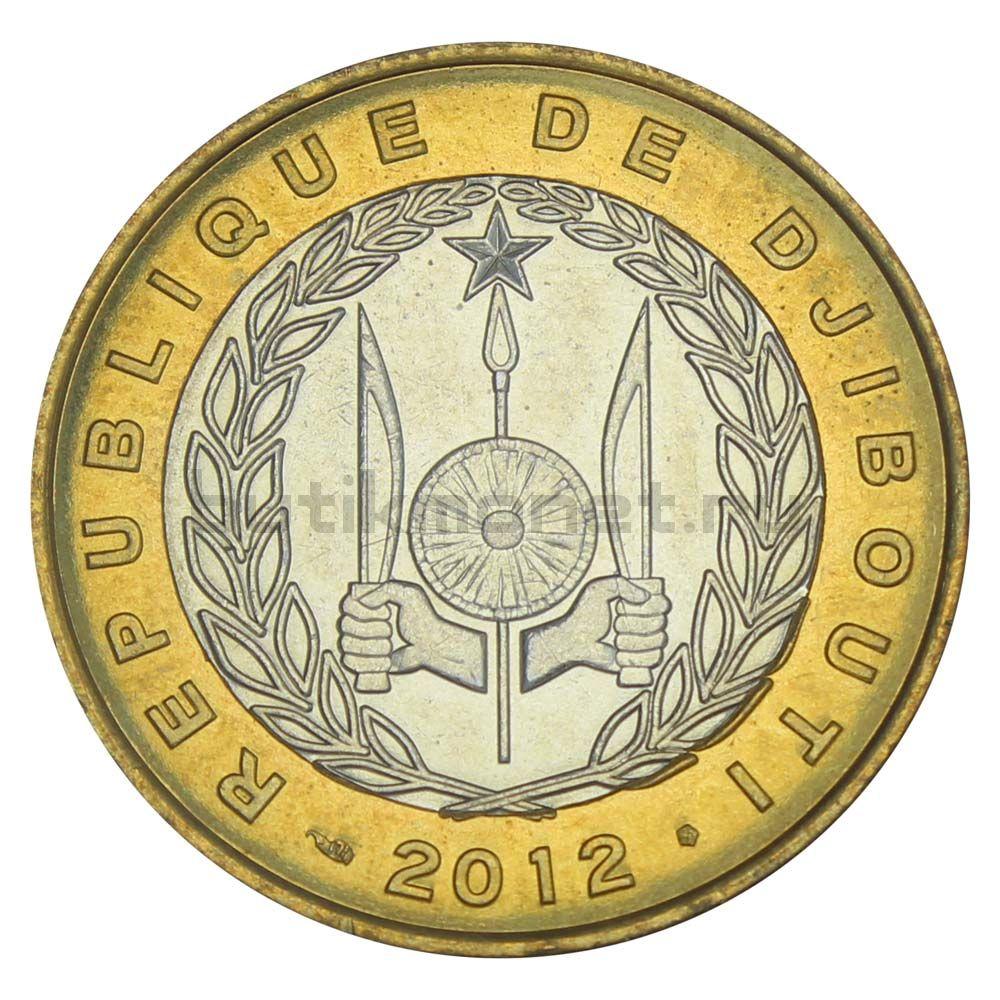 250 франков 2012 Джибути