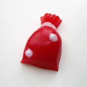 Пластиковая форма для мыла и шоколада Новогодний мешок 0509