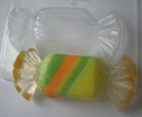 Пластиковая форма для мыла и шоколада Конфетка