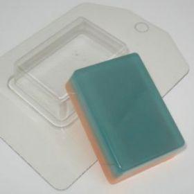 Пластиковая форма для мыла и шоколада Мини/Прямоугольник