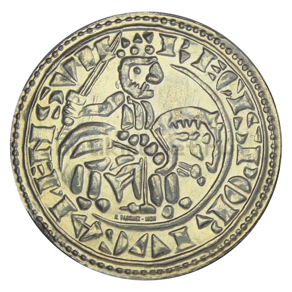 1 1/2 евро 2009 Португалия Морабитино Короля Саншу II