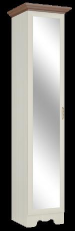 Шкаф однодверный в прихожую Латте 1 Z c зеркалом