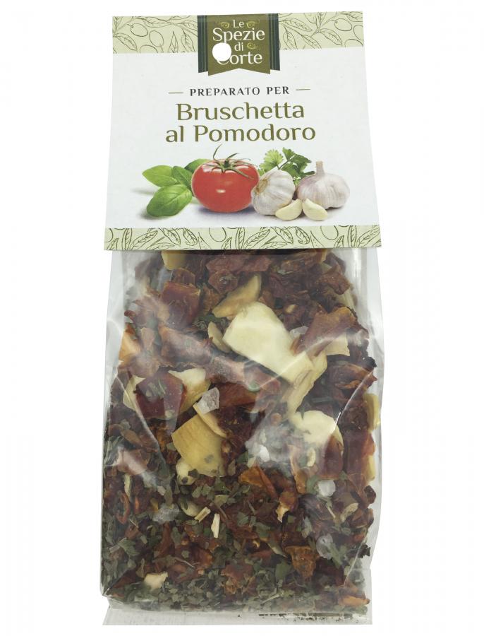 Специи для брускетты 50 г, La Corte d'Italia. Le spezie per bruschetta pomodoro 50 g