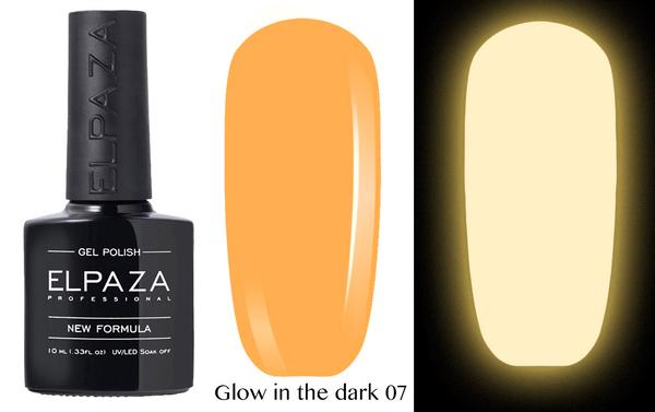 ELPAZA гель-лак GLOW IN THE DARK (светящиеся в темноте) 007, 10 мл.