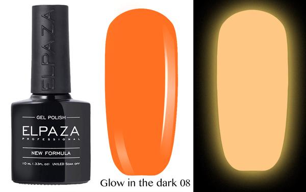 ELPAZA гель-лак GLOW IN THE DARK (светящиеся в темноте) 008, 10 мл.