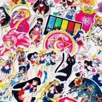 Стикеры (10шт) Sailor Moon