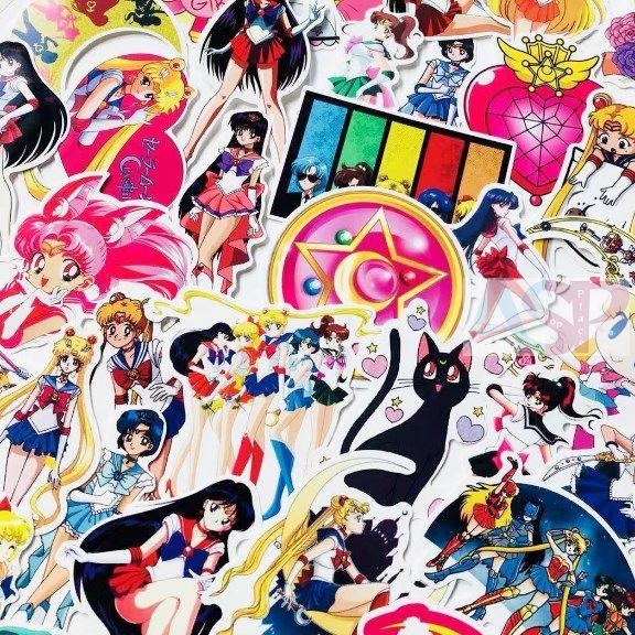 Стикеры (5шт) Sailor Moon