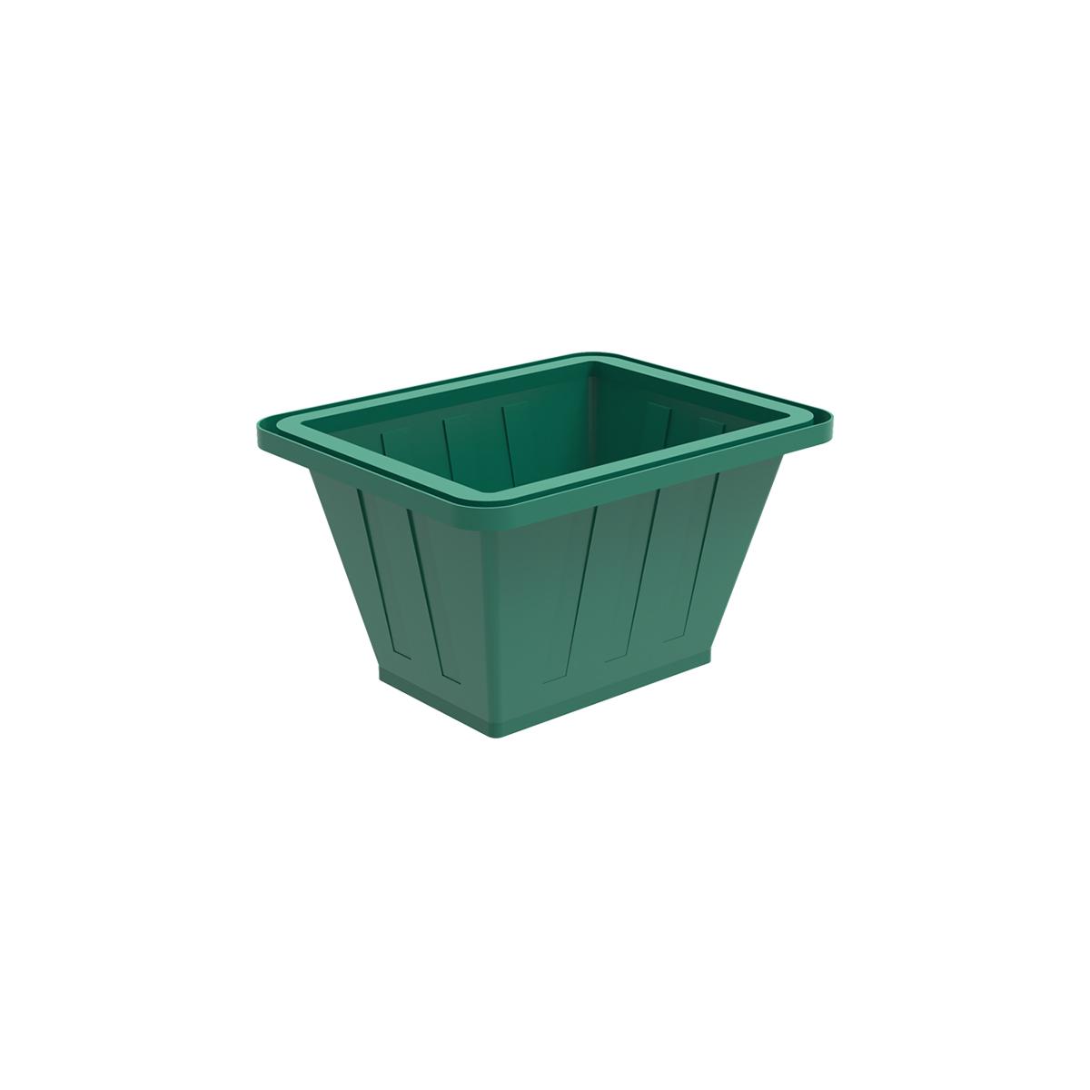Пластиковая ванна К 200 литров зеленая
