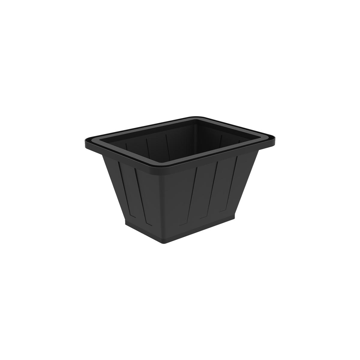 Пластиковая ванна К 200 литров черная