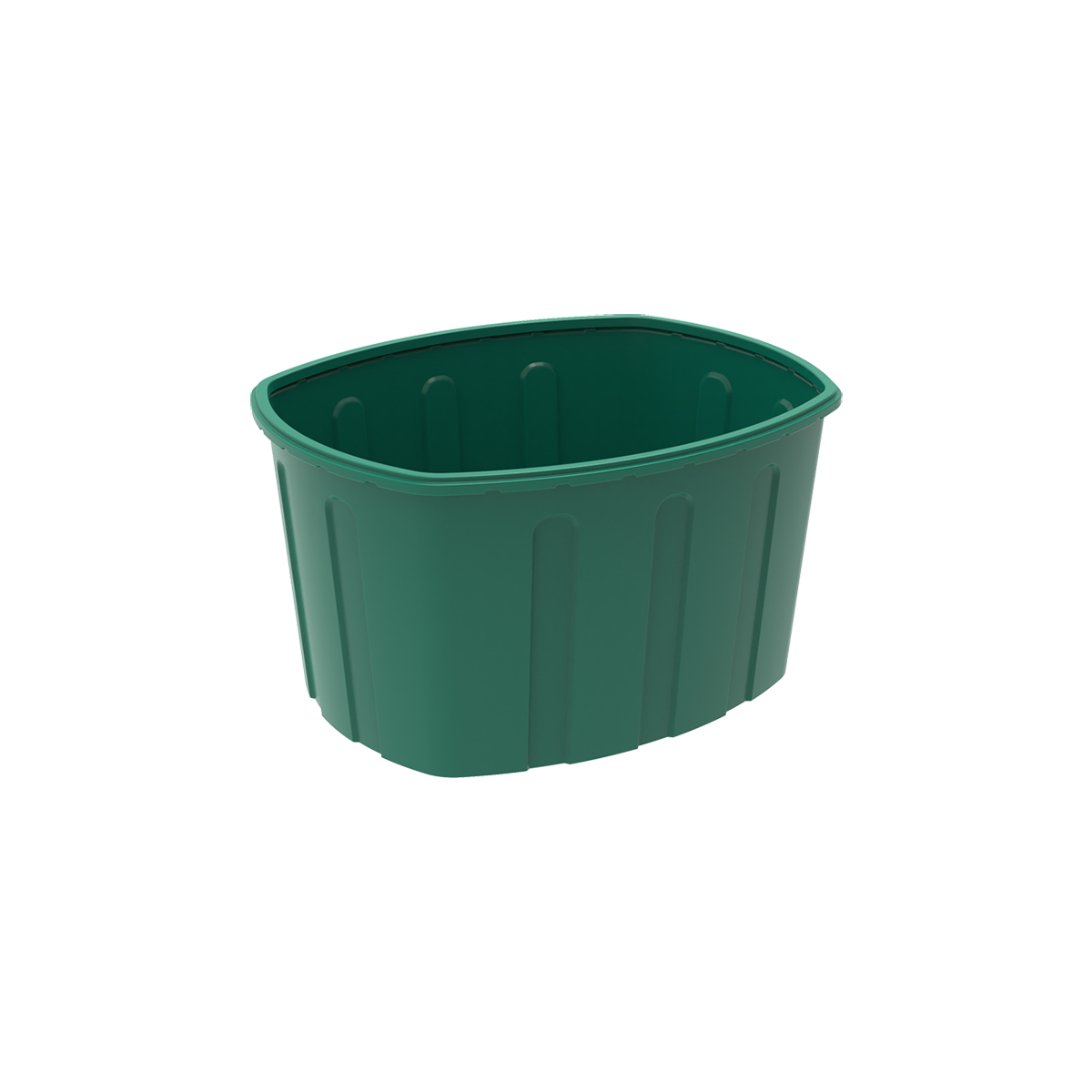 Пластиковая ванна 400 литров зеленая