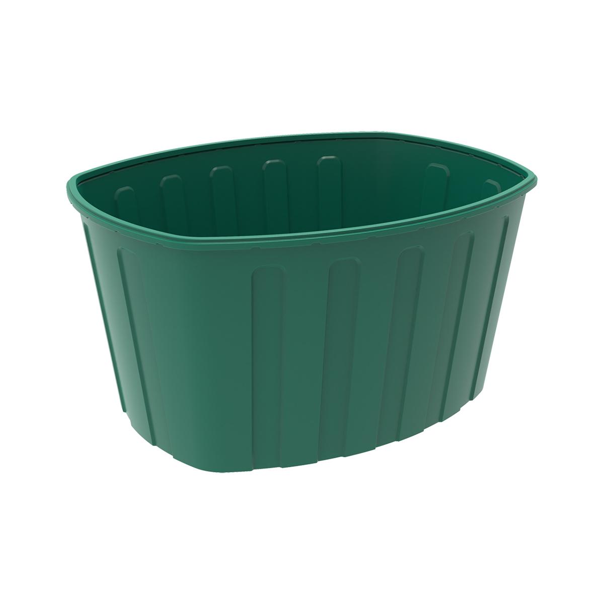 Ванна 1000 литров пластиковая зеленая