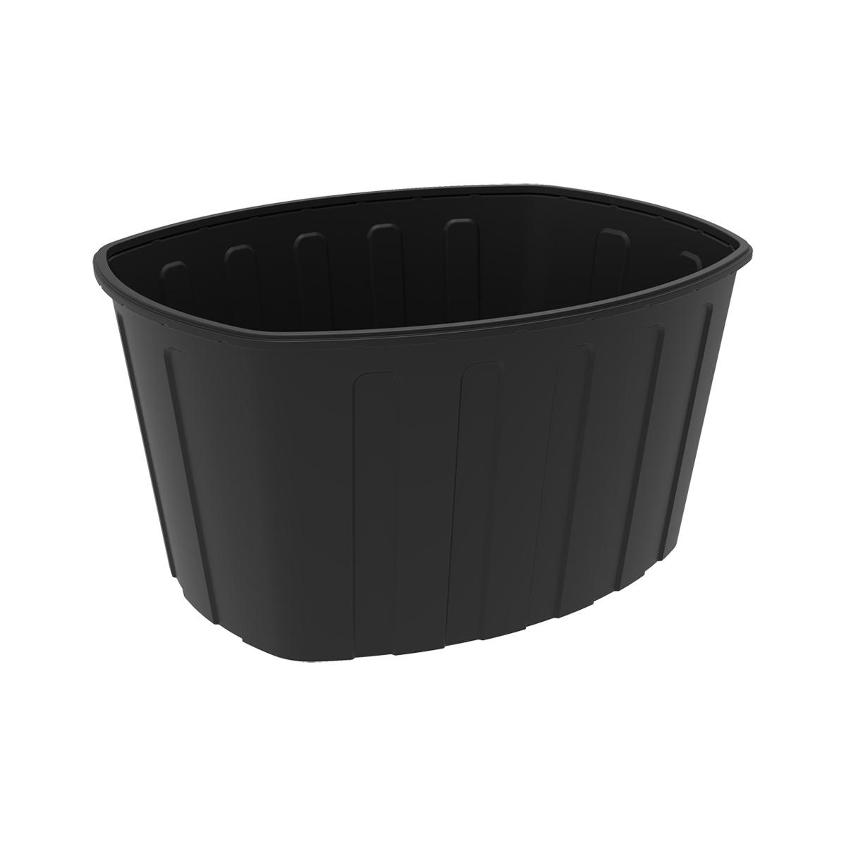 Ванна 1000 литров пластиковая черная
