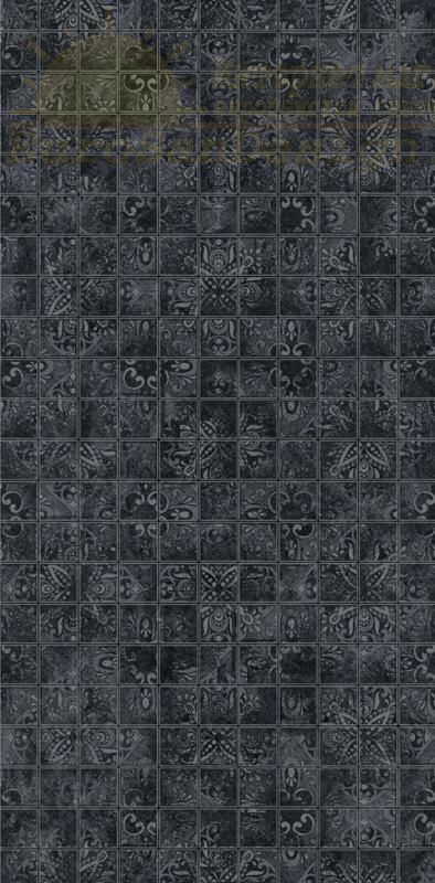 Керамическая плитка Dual Gres Buxy-Modus-London Mosaico Deluxe Black декор 30х60 ФОТО