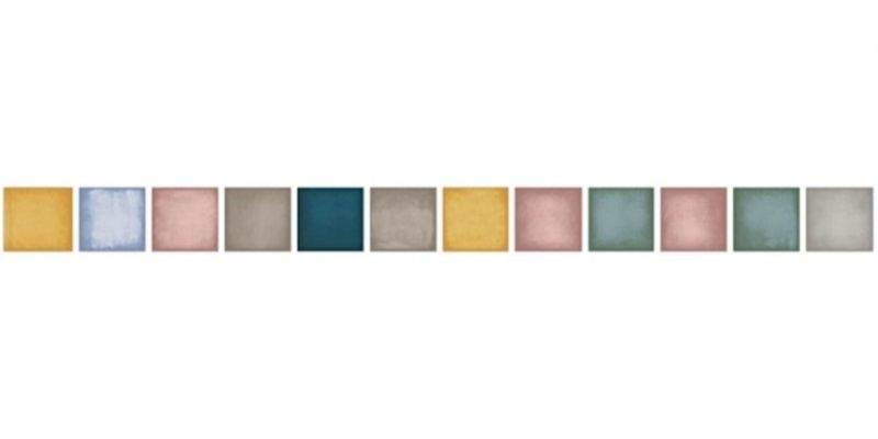 Керамический бордюр Ceramica D Imola Play L 5x60mix 5х60 ФОТО
