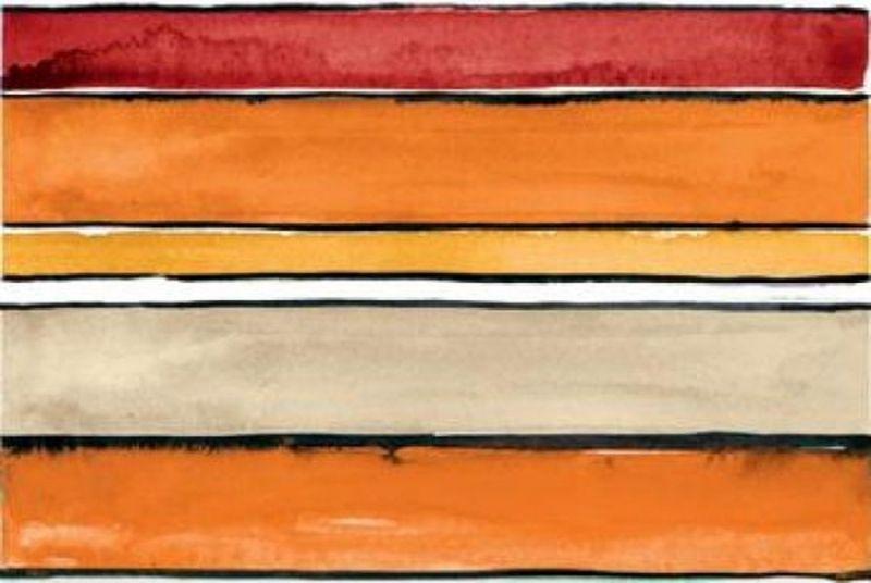 Керамический декор Ceramica D Imola Shades Stripes Sun Mix 20х60 ФОТО