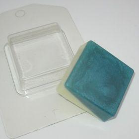 """Пластиковая форма для мыла и шоколада """"Мини/Квадрат"""", арт. 0717"""