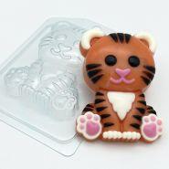 Тигр мультяшный сидит