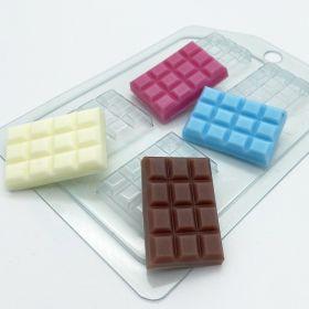 Форма для льда и шоколада «Плитка 40х27 плоская ячейка», арт. 2268