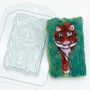 """Форма пластиковая """"Тигр крадется из тростника"""", арт. 2323"""