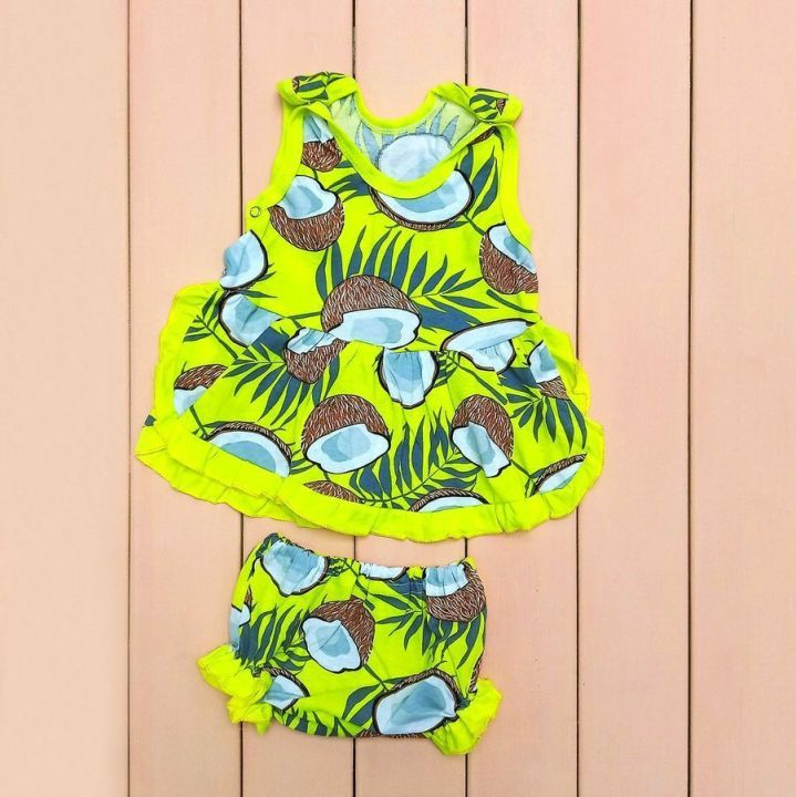 """Комплект """"Барби"""" платье, трусы 5671 Мамин Малыш"""
