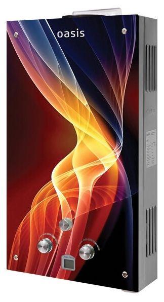 Проточный газовый водонагреватель Oasis Glass 24RG (N)