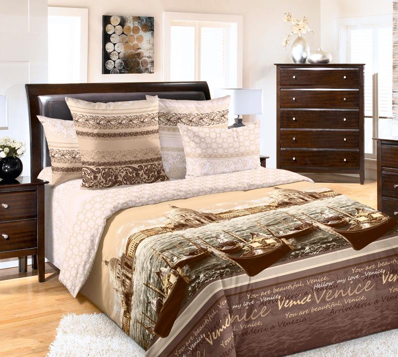 «Венеция 2» постельное белье Перкаль Семейный