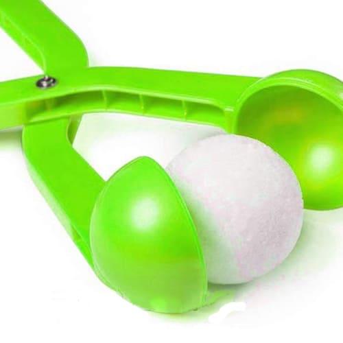 Снежколеп (диаметр снежка 5 см), цвет - зелёный.