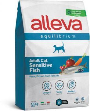 Alleva Equilibrium Sensitive Fish (Аллева Эквилибриум Сенситив с рыбой) для кошек