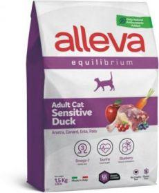 Alleva Equilibrium Sensitive Duck (Аллева Эквилибриум Сенситив с уткой) для кошек