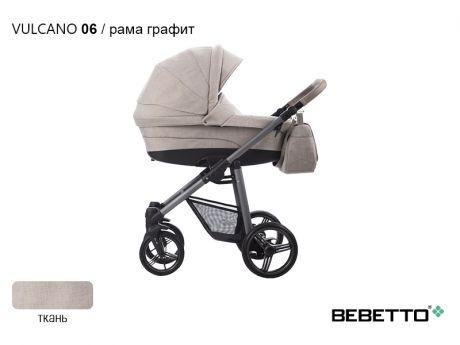 Коляска 3 в 1 Bebetto Vulcano