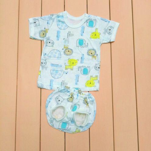 Комплект: футболка, трусы под памперс C-KM068(2)-SU