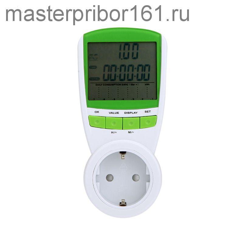 Цифровой измеритель мощности  230В 50 Гц ЖК-дисплей TS-838