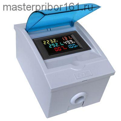 Многофункциональный монитор мощности 6 в 1 D69-2058  40-300V 0-100A
