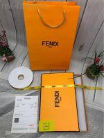 Коробка, пакет Fendi для платка