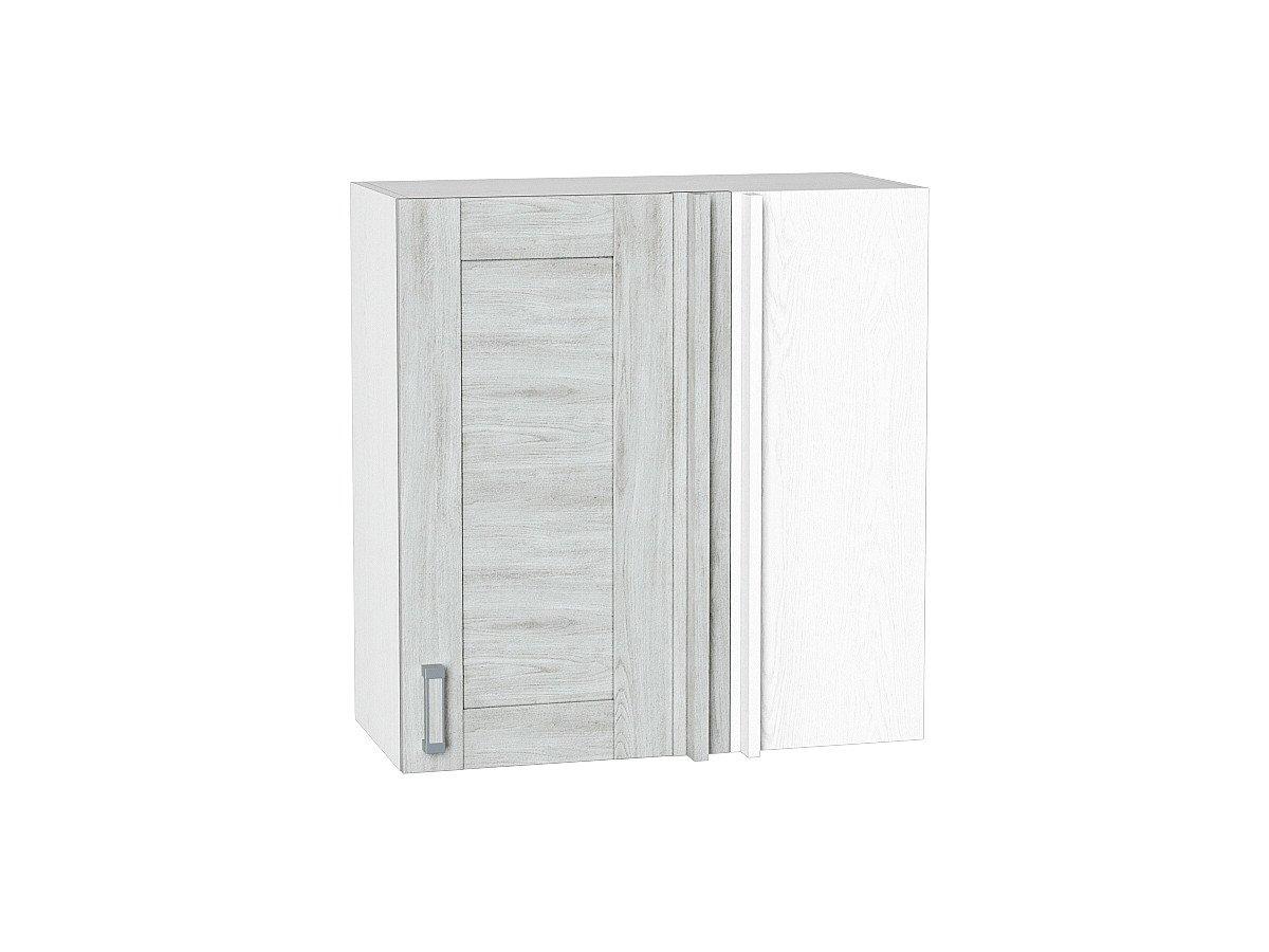 Шкаф верхний прямой угловой Лофт ВУ690 (nordic oak)